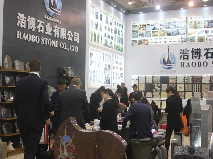 Haobo stone has attended 17th China Xiamen international stone fair