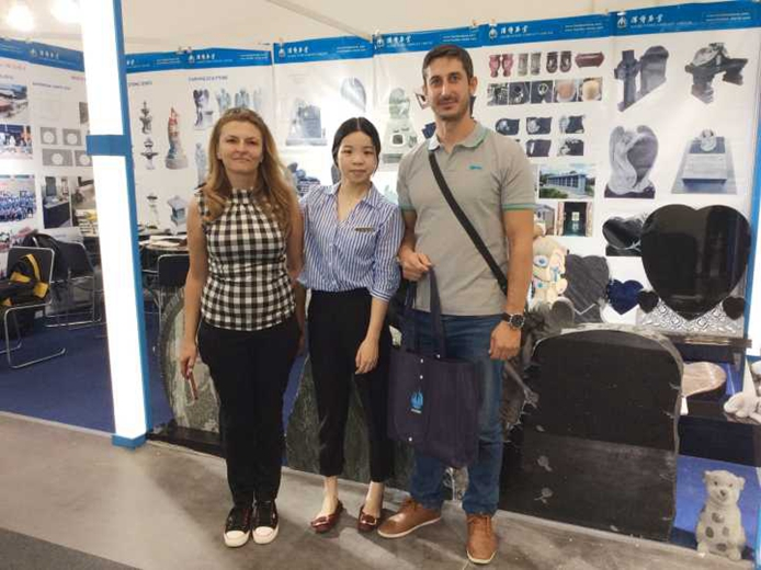 Haobo stone has attended the 2017 MARMOMACC stone fair