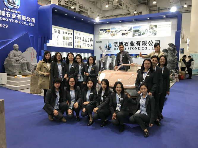 Haobo stone has attended the 2018 Xiamen International Stone Fair