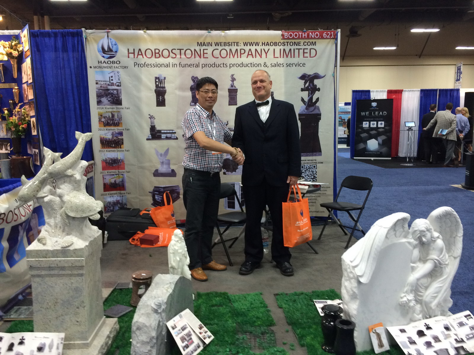 Haobo had attended 2014 Monument Industry Show