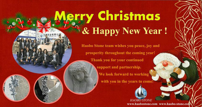 Haobo stone team wishes you a Merry Christmas!
