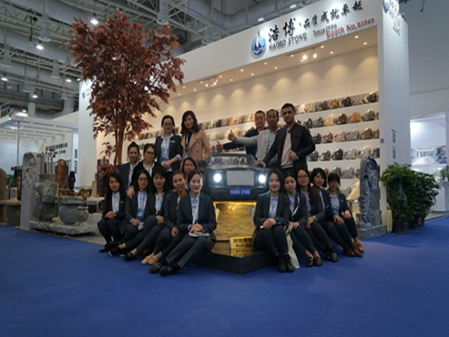 Haobo stone has attended the 2019 Xiamen International Stone Fair