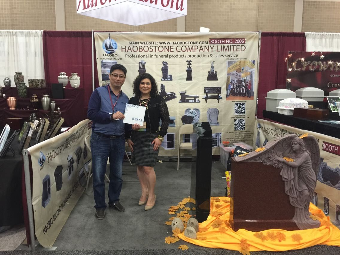 Haobo had attended 2015 Monument Industry Show