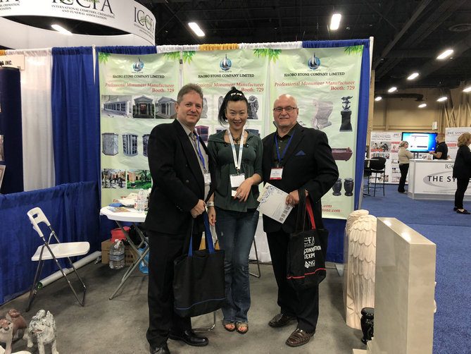 Haobo stone has attended the 2018 ICCFA Annual Convention & Expo